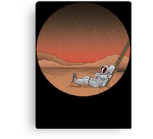 Mars is Lovely... Canvas Print