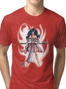 Levitation -Transparent Tri-blend T-Shirt