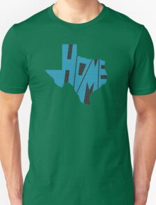 Texas HOME state design Unisex T-Shirt