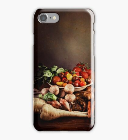 ~ Still Life with Vegetables ~ iPhone Case/Skin