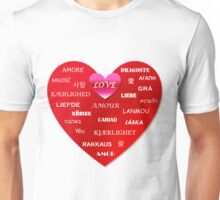 world love Unisex T-Shirt