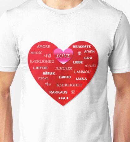 world love Unisex T-Shirt