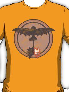 Distressed Night Fury Silhouette  T-Shirt