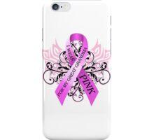 I Wear Pink For My Great Grandma (w) iPhone Case/Skin