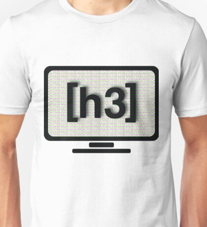 "H3H3 ""Wow Ethan"" Computer Unisex T-Shirt"