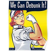 We Can Debunk It! Poster