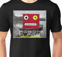 Robots in row boats  Unisex T-Shirt