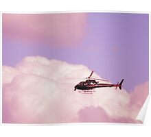 Cotton Candy Helicopter  Poster