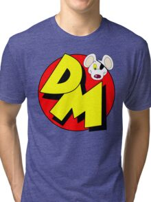 Danger Mouse Logo Tri-blend T-Shirt