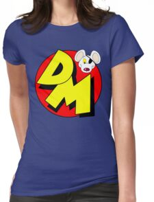 Danger Mouse Logo Womens Fitted T-Shirt