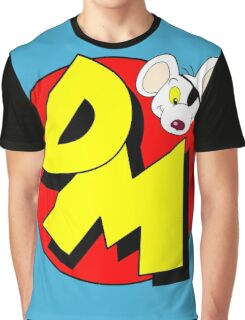Danger Mouse Logo Graphic T-Shirt
