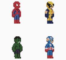 Marvel Pixel Heroes 2! by Jyles Lulham