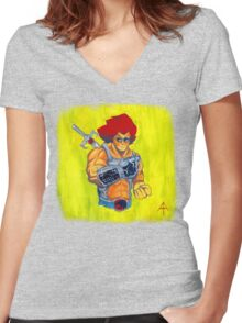 NintendHOOOO!!! Women's Fitted V-Neck T-Shirt