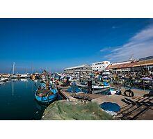 Israel, Jaffa, The ancient port  Photographic Print