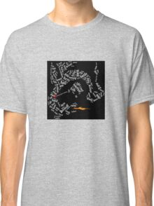 Beowulf slays the dragon Classic T-Shirt