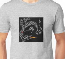 Beowulf slays the dragon Unisex T-Shirt