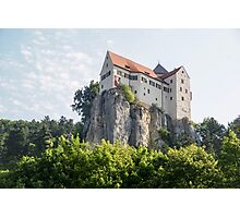 Schloss overlooking the Rhine–Main–Danube Canal near Regensburg, Bavaria, Germany  Photographic Print