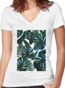 Perceptive Dream #redbubble #lifestyle Women's Fitted V-Neck T-Shirt