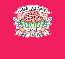 Cake Alliance Cupcake Version Womens Fitted T-Shirt