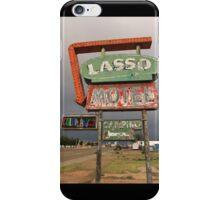 Lasso Motel iPhone Case/Skin