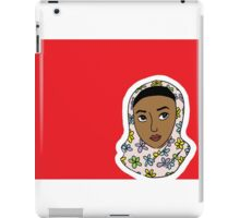 girl in red iPad Case/Skin