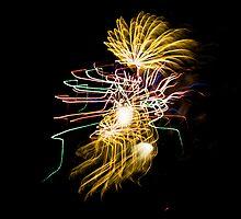 Fireworks Variation # 30 by OrPhotoJohn