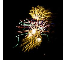 Fireworks Variation # 30 Photographic Print