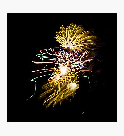 Fireworks Variation # 30 Photographic Print