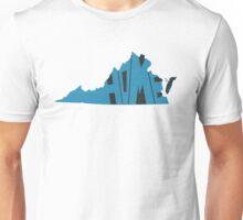 Virginia HOME state design Unisex T-Shirt