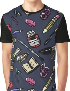Art Supplies Bonanza!!! Graphic T-Shirt
