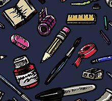 Art Supplies Bonanza!!! by Blake Chamberlain