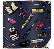 Art Supplies Bonanza!!! Poster