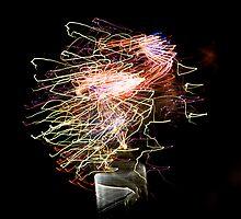 Fireworks Variation # 19 by OrPhotoJohn