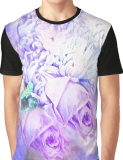 Roses so Pretty Lilac and Purple Graphic T-Shirt