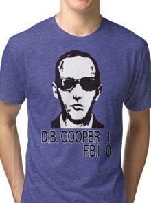 D.B. Cooper 1 F.B.I 0 Tri-blend T-Shirt