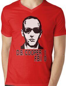 D.B. Cooper 1 F.B.I 0 Mens V-Neck T-Shirt
