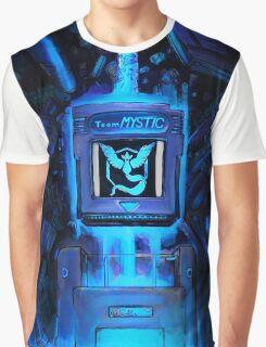 Pocket Power Go - Team Mystic Graphic T-Shirt