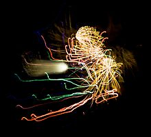 Fireworks Variation # 31 by OrPhotoJohn