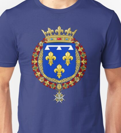 Coat of Arms of the House of Orléans Unisex T-Shirt