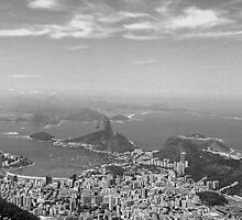 Rio from Corcovado by jmath