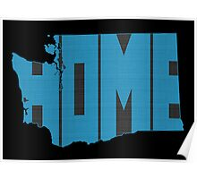 Washington HOME state design Poster