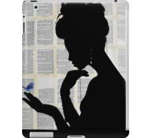 little blue iPad Case/Skin