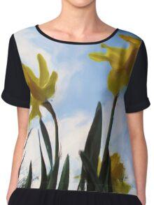 Daffodils Chiffon Top