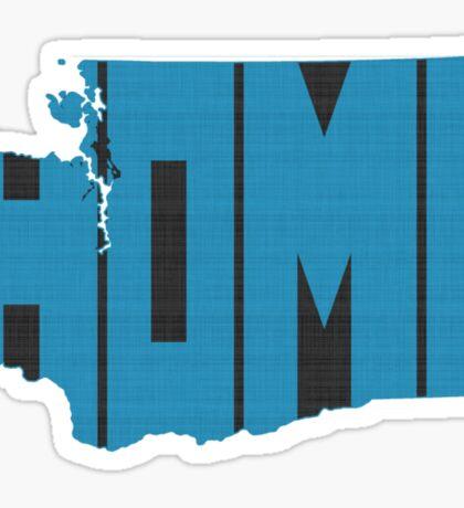 Washington HOME state design Sticker