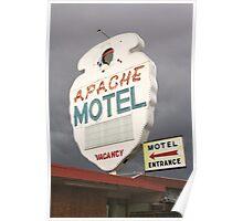 Apache Motel Poster