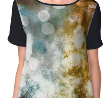 Bokeh Fae Fairy Lights Surreal Fantasy Abstract  Chiffon Top