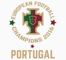 Portugal Euro 2016 Champions ID-3 One Piece - Short Sleeve