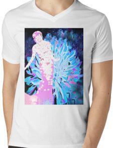 Dahlia Fabulous Mens V-Neck T-Shirt