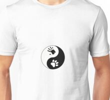 Big Cat Therian Ying/Yang Unisex T-Shirt