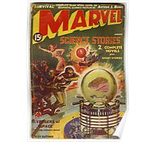 marvel science stories Poster